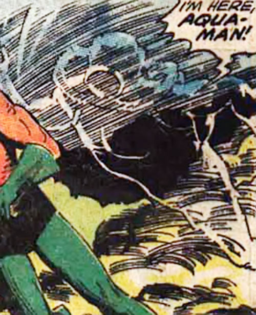 The Invisible Un-Thing ambushes Aquaman