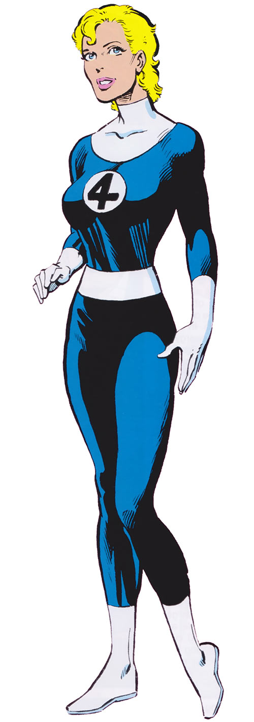Classic Invisible Woman by Byrne (Marvel Comics) (Fantastic Four)