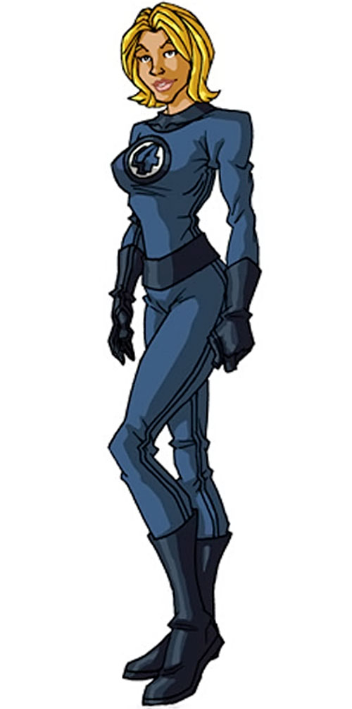 Classic Invisible Woman by RonnieThunderbolts 1/3