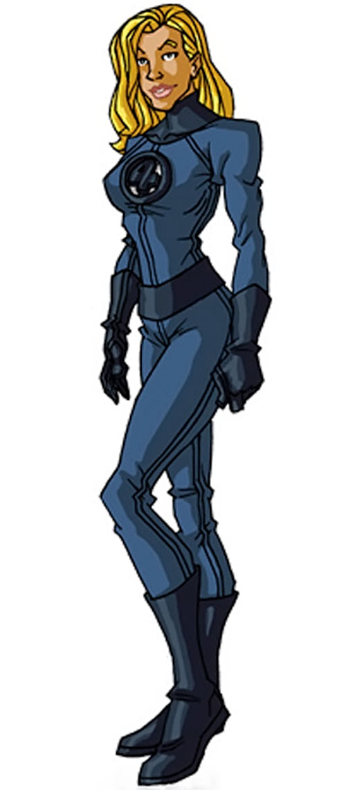 Classic Invisible Woman by RonnieThunderbolts 3/3