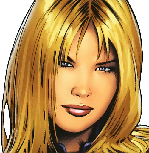 Ultimate Invisible Woman (Ultimate Marvel Comics) closeup by Greg Land