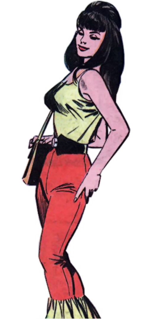 Irena Dubaya (Sarge Steel enemy) (Charlton Comics)