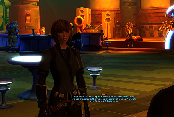 SWTOR - Star Wars the Old Republic - Cantina - Imperial agent