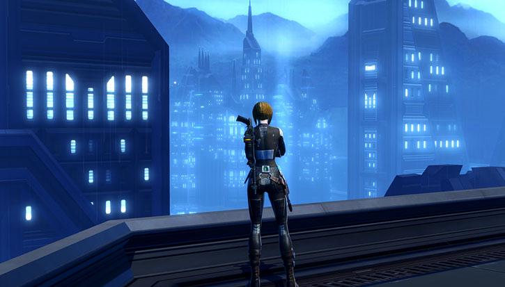 Dromund Kaas skyline - SWTOR - Star Wars - Imperial Agent