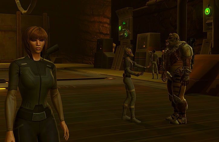 Iris Kalder the Imperial Agent - SWTOR - On Hutta