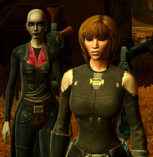 SWTOR - Star Wars the Old Republic - Imperial Agent - Kaliyo Djannis