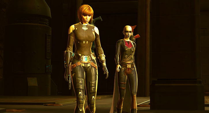 Iris Kalder and Kaliyo Djannis - SWTOR - Star Wars the Old Republic