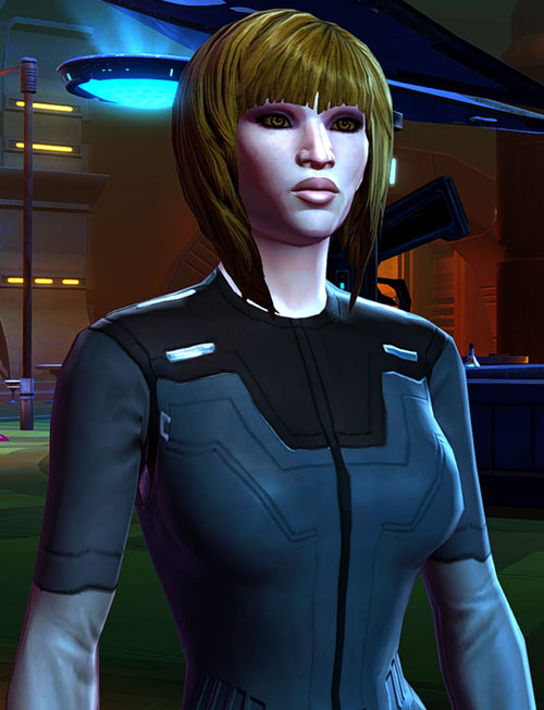 SWTOR - Star Wars the Old Republic - Imperial Agent - Pale skin