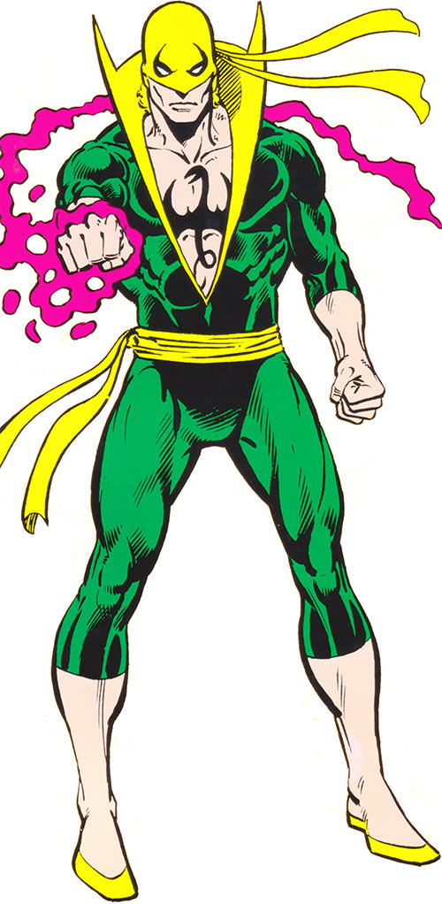 Iron Fist (Marvel Comics) during the 1980s