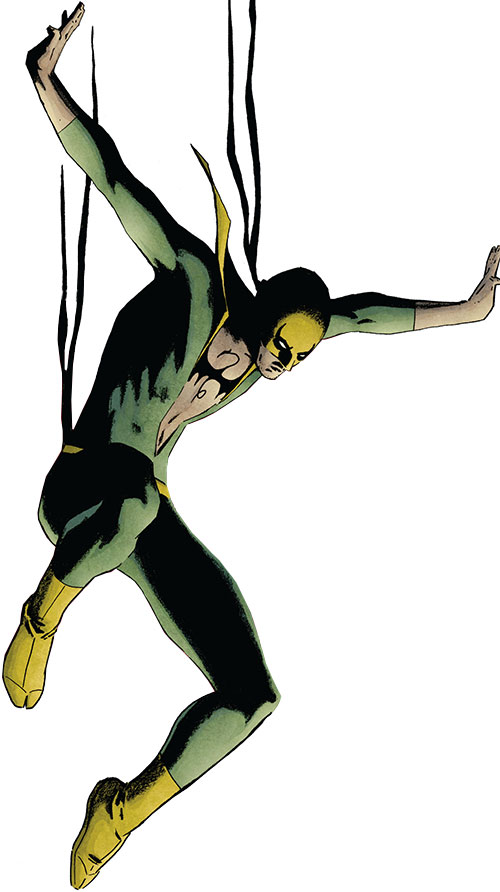 Iron Fist (Marvel Comics) jumping down