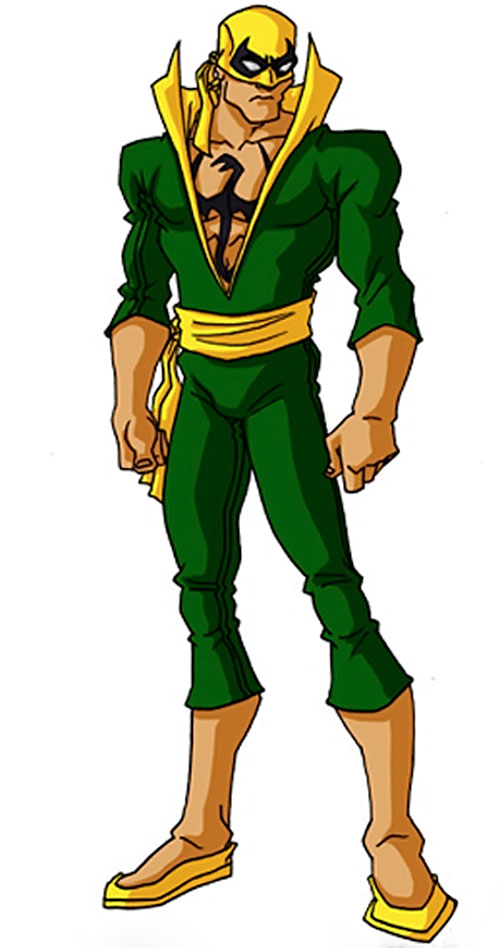 Iron Fist (Marvel Comics) by RonnieThunderbolts 1/3