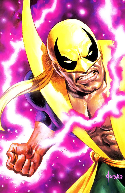 Iron Fist (Marvel Comics) by Jusko