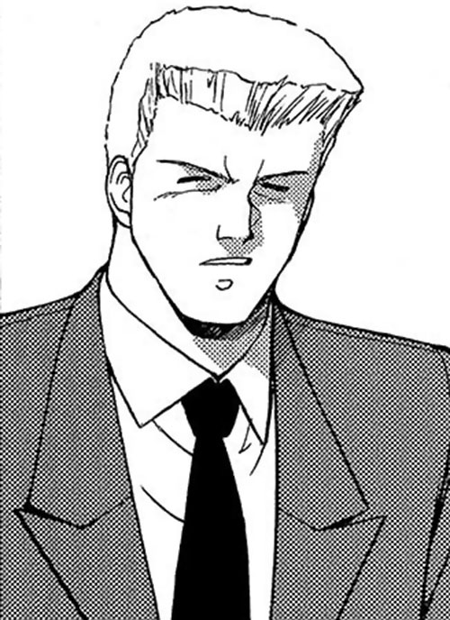 Denis (Goldie's aide in the Gunsmith Cats manga)