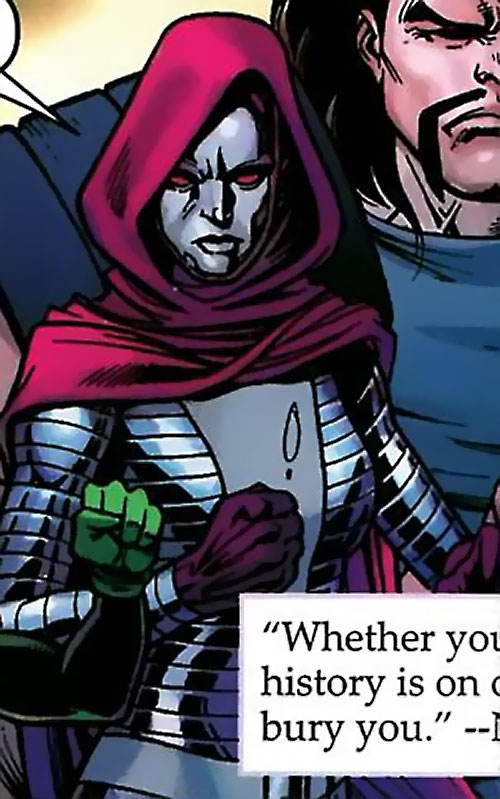 Iron Maiden (Marvel Comics) in The Order