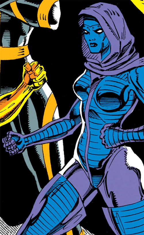 Iron Maiden (Marvel Comics) and Superia