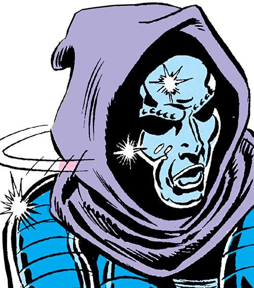 Iron Maiden (Marvel Comics) mask closeup