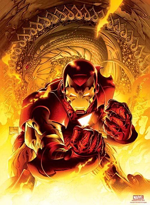 Iron Man 2007 animated movie