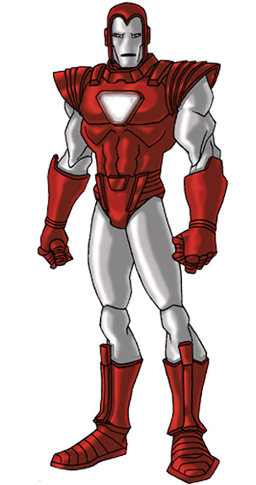 Iron Man Silver Centurion Armor (Marvel Comics) by RonnieThunderbolts