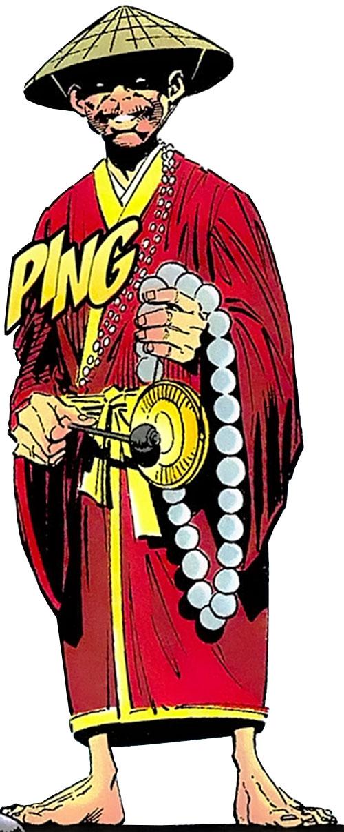 Iron Monk (Wolverine enemy) (Marvel Comics)