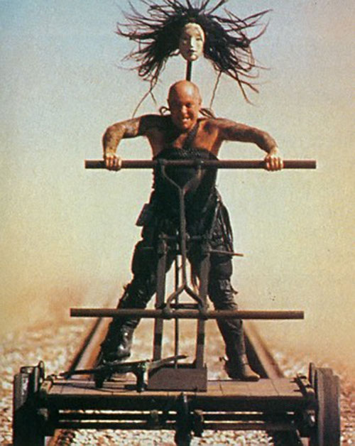 Ironbar (Angry Anderson in Mad Max)