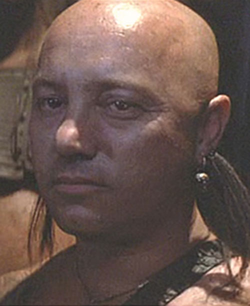 Ironbar (Angry Anderson in Mad Max) face closeup