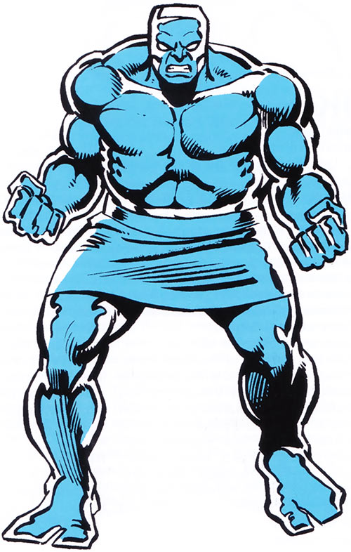 Ironclad of the U-foes (Hulk enemy) (Marvel Comics) from the Handbook
