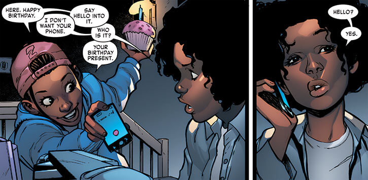 Ironheart - Marvel Comics - Riri Williams - 13th birthday - Natalie