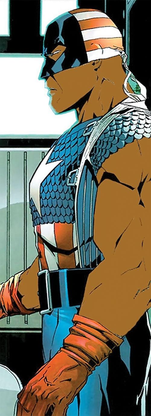 Captain (Isaiah Bradley) imaginary az version side view