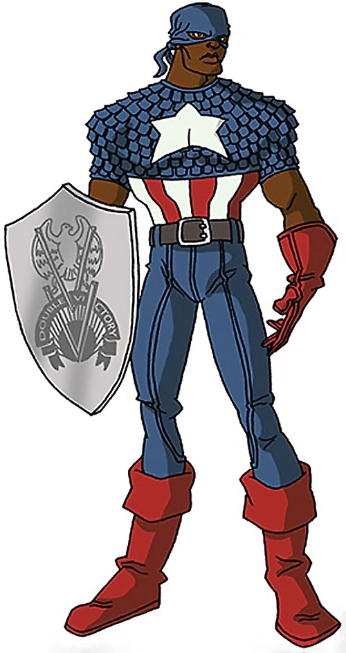 Captain America (Isaiah Bradley) (Marvel Comics] by RonnieThunderbolts (knotted mask version)