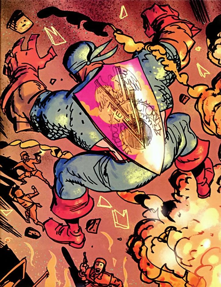 Captain America (Isaiah Bradley)'s shield