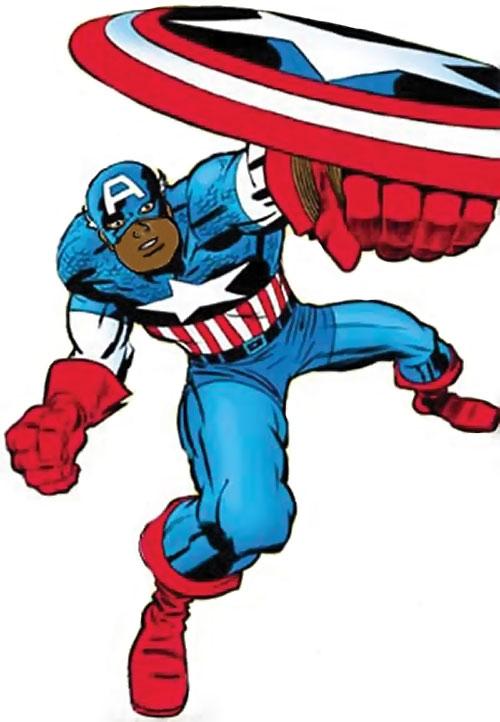 Captain America (Isaiah Bradley alternate universe version) (Marvel Comics)