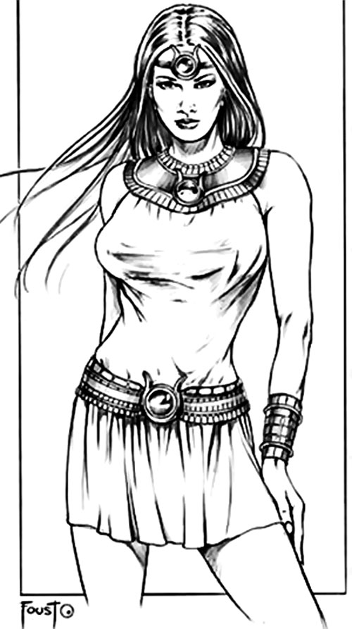Isis sketch by Foust