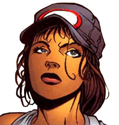 Sala Nisaba (Green Lantern ally) (DC Comics) face closeup