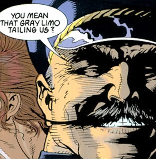 Ivan Petrovitch (Black Widow character) (Marvel Comics) and his mustache