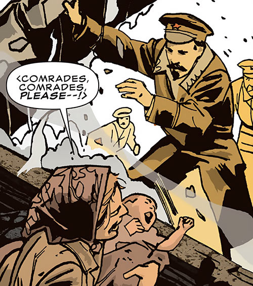 Ivan Petrovitch (Black Widow character) (Marvel Comics) as a young man in Stalingrad