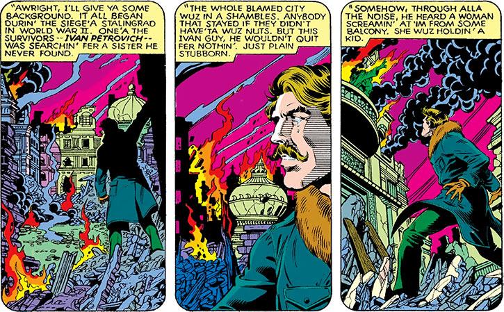 Ivan Petrovitch - Marvel Comics - Black Widow - Siege Stalingrad - Baby