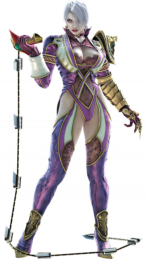 Ivy (Soul Calibur) in quasi-lingerie