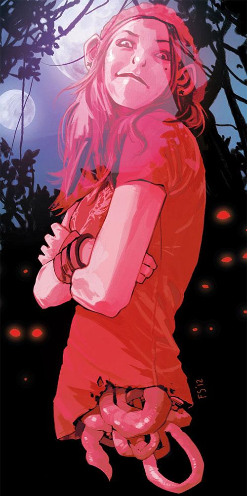 Izabel the Horror (Saga comics Image)