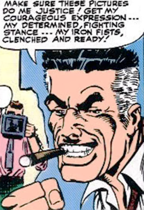 J Jonah Jameson (Spider-Man character) (Marvel Comics) during the 1960s