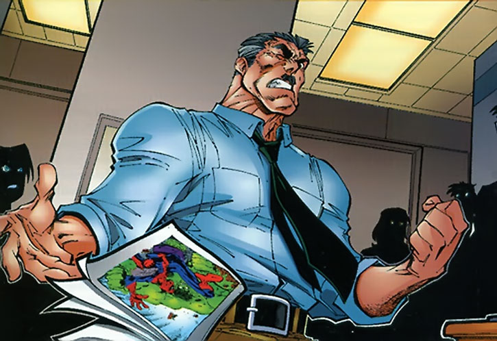 J.J. Jameson at the Daily Bugle