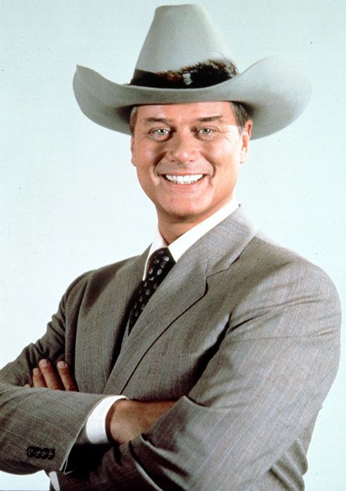 JR John Ross Ewing (Larry Hagman in Dallas)