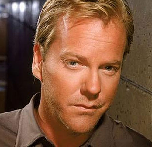 Jack Bauer (Kiefer Sutherland in 24) face closeup