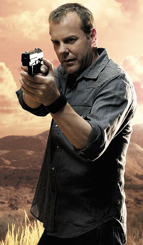 Jack Bauer (Kiefer Sutherland in 24)