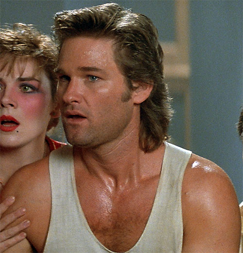 Jack Burton (Kurt Russell in Big Trouble In Little China) and Kim Cattrall