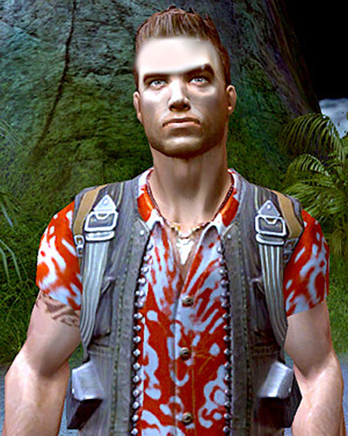 Jack Carver (Far Cry) in the jungle