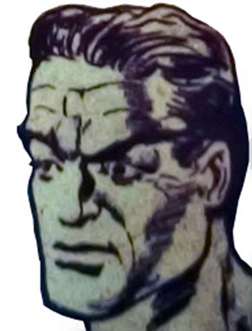 Jack Frost 1940s face closeup