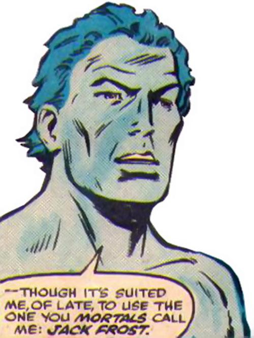 Jack Frost introduces himself
