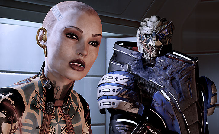Jack and Garrus