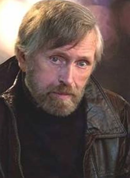 Jack McGee (Jack Colvin in The Incredible Hulk TV series) with a beard