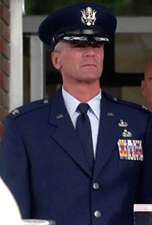 Jack O'Neill (Richard Dean Anderson in Stargate) in his dress blues